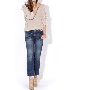 [FRAME] Le Grand Garcon Boyfrind cuff jeans #X13